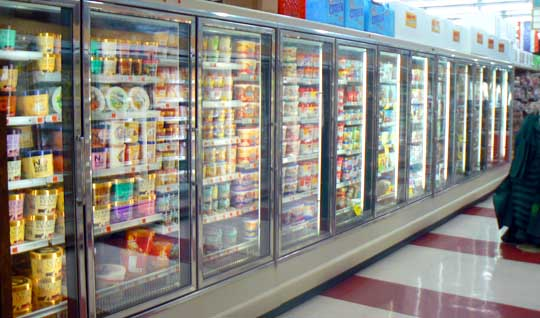 low carb frozen meals aisle