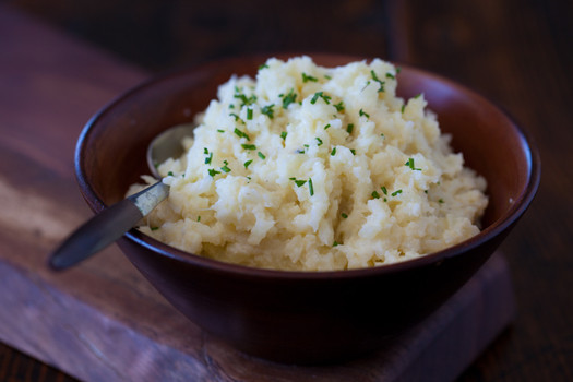 low carb side dishes mashed cauliflower