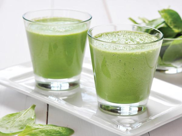low carb smoothies spinach avocado